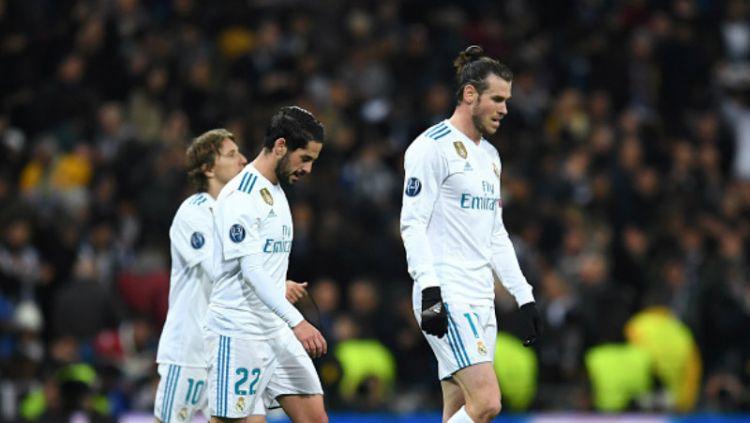 Ekspresi sedih Real Madrid. Copyright: © Getty Image