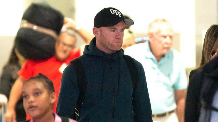 Wayne Rooney, mantan pemain Manchester United. Copyright: © Splash News