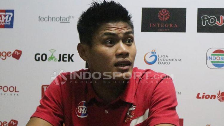 Fachrudin Aryanto, Usai Kalah Lawan Persipura, Madura United Bertekad Ambil Poin Kandang. Copyright: © Fitra Herdian/Indosport.com