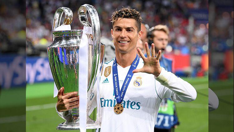 Ronaldo Merayakan Juara Copyright: © Getty Images
