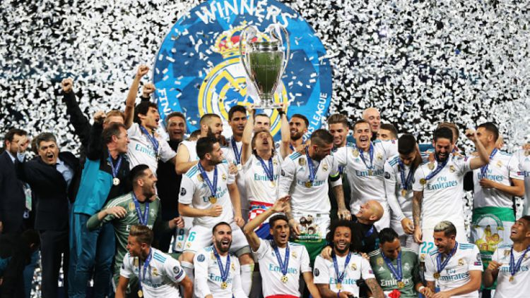 Real Madrid menjuarai Liga Champions. Copyright: © INDOSPORT