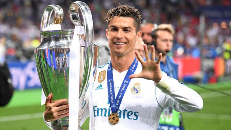 Dua bintang Real Madrid, Sergio Ramos dan Cristiano Ronaldo Copyright: © Getty Images