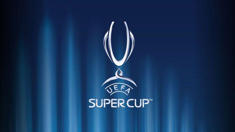 Logo Piala Super Eropa. Copyright: © UEFA