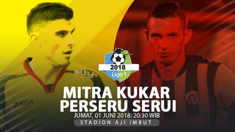 Mitra Kukar vs Perseru Serui. Copyright: © INDOSPORT