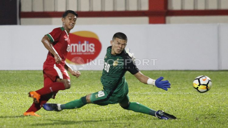 Timnas Indonesia U-23 vs Thailand U-23 Copyright: © INDOSPORT/Herry Ibrahim