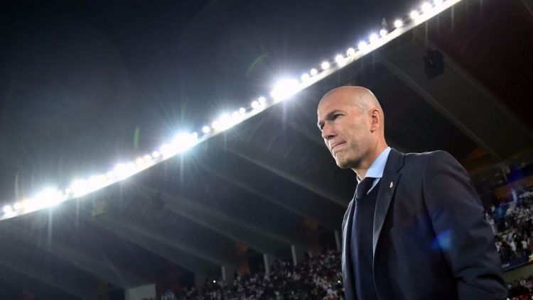 Zinedine Zidane, mantan pelatih Real Madrid. Copyright: © bEIN Sports