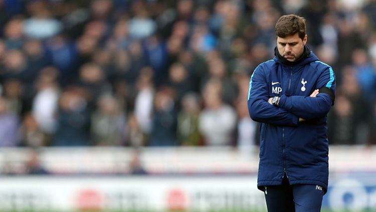 Mauricio Pochettino batal diinginkan Real Madrid. Copyright: © INDOSPORT