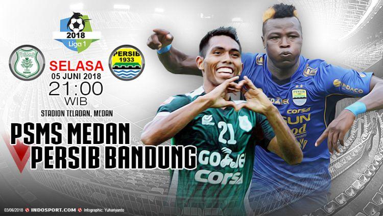 Prediksi PSMS Medan vs Persib Bandung Copyright: © Indosport.com