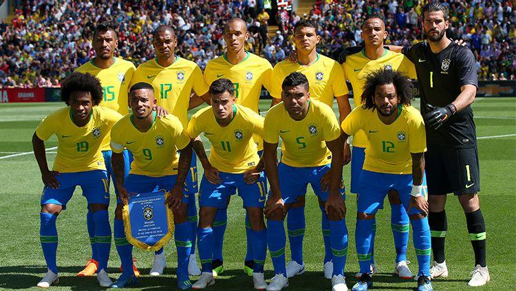 Susunan pemain Brasil vs Bolivia Copyright: © Getty Images