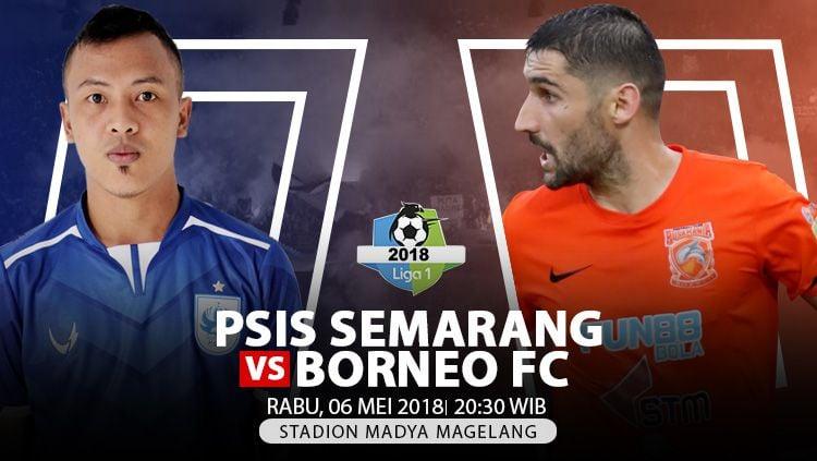 Prediksi PSIS Semarang vs Borneo FC. Copyright: © INDOSPORT