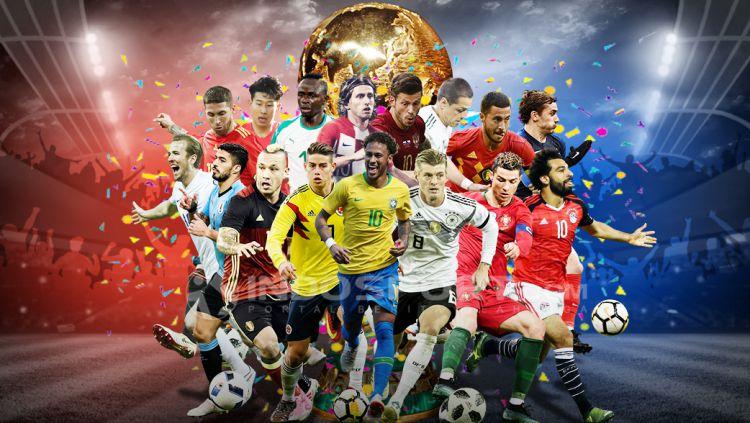 Tim-tim Piala Dunia 2018. Copyright: © INDOSPORT