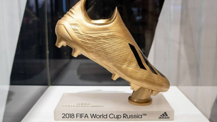 Golden Boot Piala Dunia 2018 Copyright: © Adidas