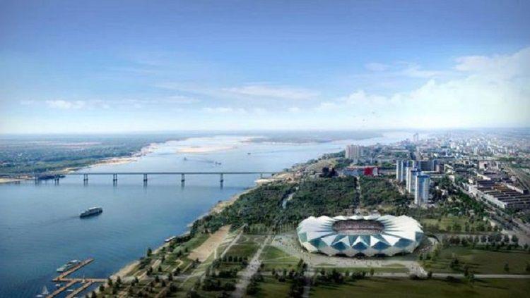 Pemandangan Kota Volgograd, Rusia. Copyright: © pokerrusia.net