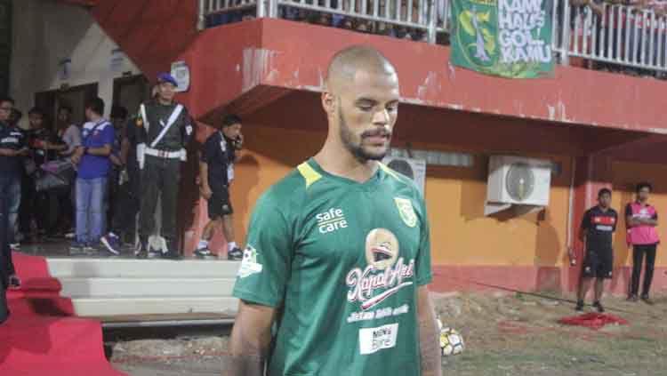 David Da Silva, striker Persebaya Surabaya. Copyright: © Media Persebaya Surabaya