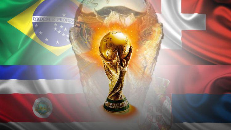 Piala Dunia 2018 Grup E Brasil, Swiss, Kosta Rika, dan Serbia Copyright: © Indosport.com