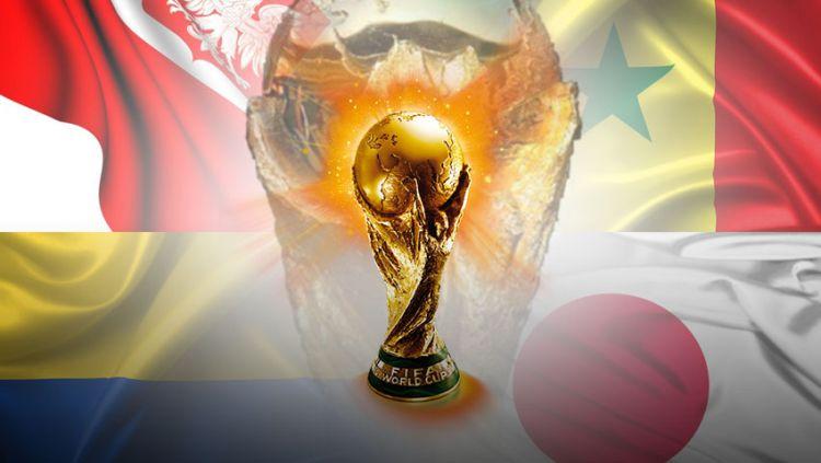 Indosport - Piala Dunia Grup H Polandia, Senegal, Kolombia dan Jepang.