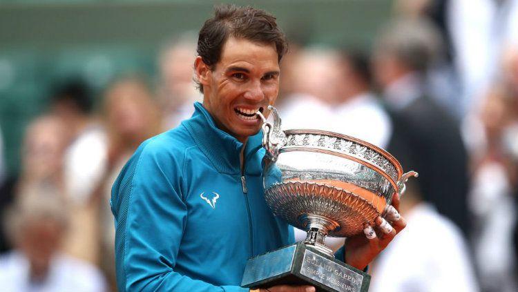 Rafael Nadal vs Roger Federer. Copyright: © INDOSPORT