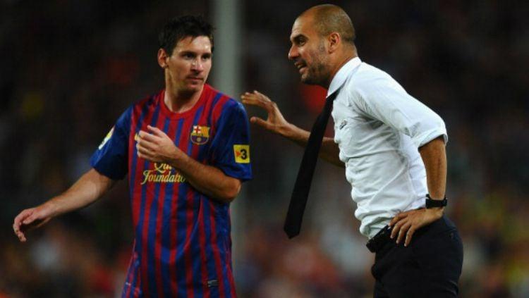 Malangnya nasib Lionel Messi yang ingin jadi pengkhianat raksasa LaLiga Spanyol, Barcelona, tapi malah bisa berujung petaka ketika ditolak Manchester City. Copyright: © Getty Images
