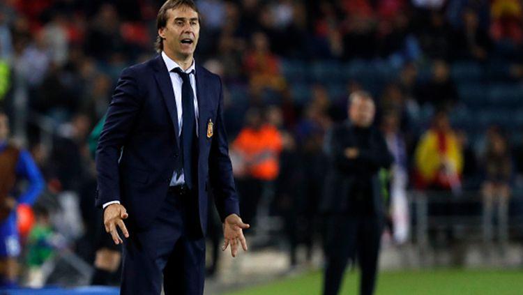 Spanyol dikabarkan telah mempertimbangkan untuk memecat pelatih Lopetegui hanya satu hari sebelum Piala Dunia 2018 dimulai. Copyright: © Internet