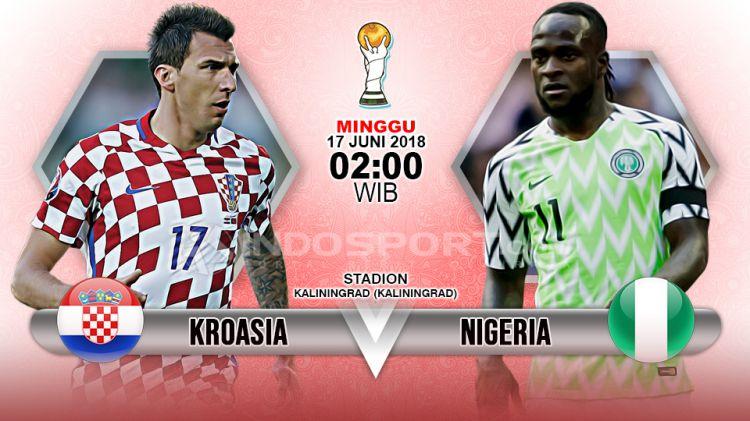 Kroasia Menghadapi Nigeria Di Penyisihan Grup D Piala Dunia  Copyright Indosport