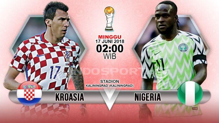 Prediksi Kroasia vs Nigeria Copyright: © Indosport.com