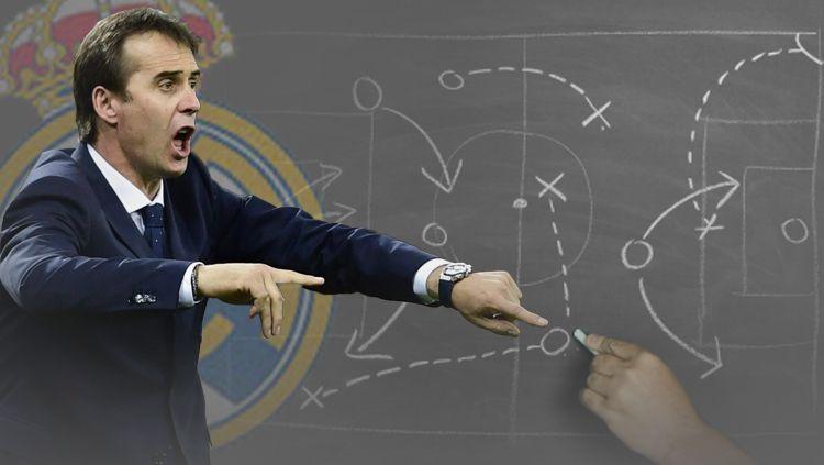 Julen Lopetegui yang resmi jadi pelatih baru Real Madrid. Copyright: © INDOSPORT