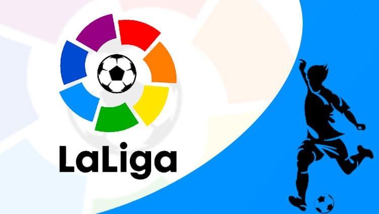 Logo La Liga Spanyol. Copyright: © INDOSPORT