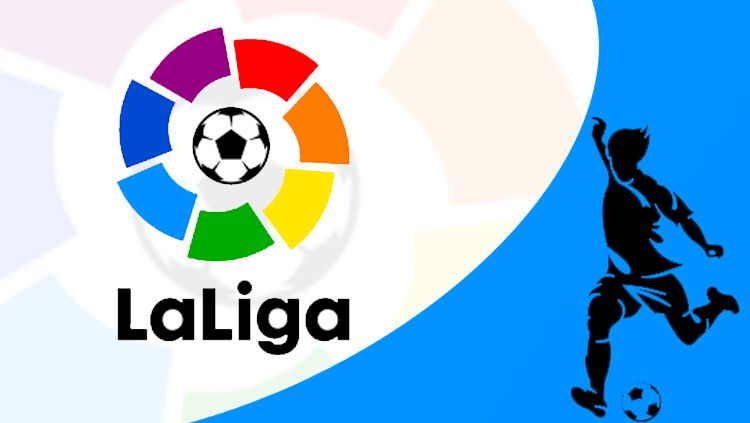 Logo LaLiga Spanyol. Copyright: © INDOSPORT