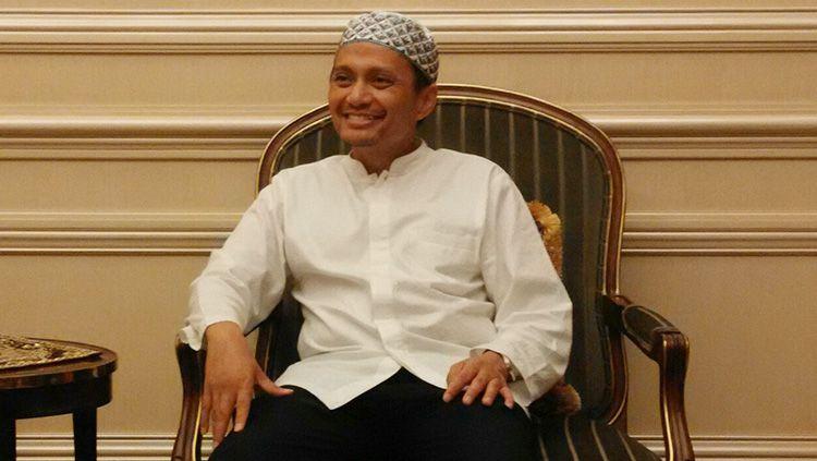 Manajer Barito Putera, Hasnuryadi Sulaiman. Copyright: © Muhamad Rais Adnan/Goal