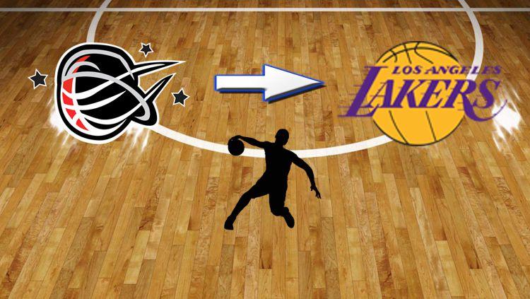 Ilustrasi pebasket Stapac Jakarta ke LA Lakers. Copyright: © StickPNG - ynotpics - Stapac Jakarta