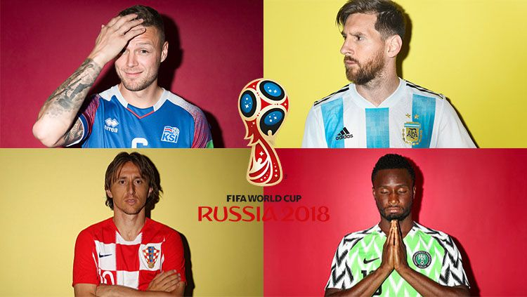 Grup D Piala Dunia 2018: Nigeria, Islandia, Kroasia, Argentina. Copyright: © INDOSPORT