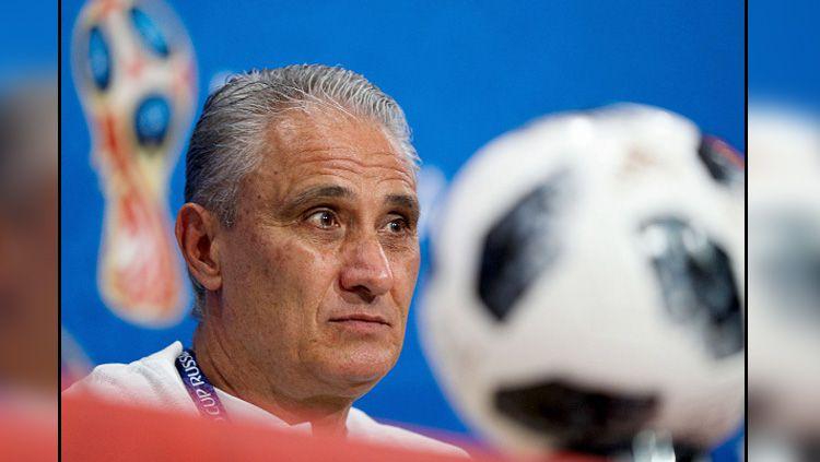Tite, pelatih Timnas Brasil. Copyright: © Getty Images