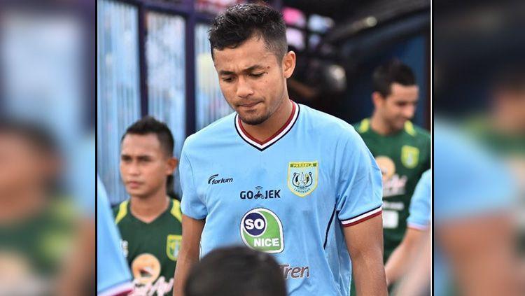 Arif Satria pemain Persela Copyright: © Instagram Arif Satria