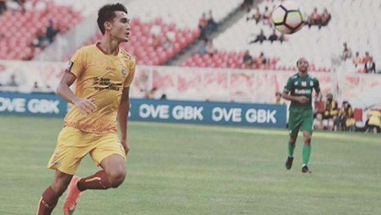 Zalnando, saat memperkuat Sriwijaya FC. Copyright: © Instagram Zalnando