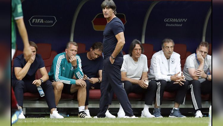 Joachim Low, pelatih Timnas Jerman. Copyright: © INDOSPORT