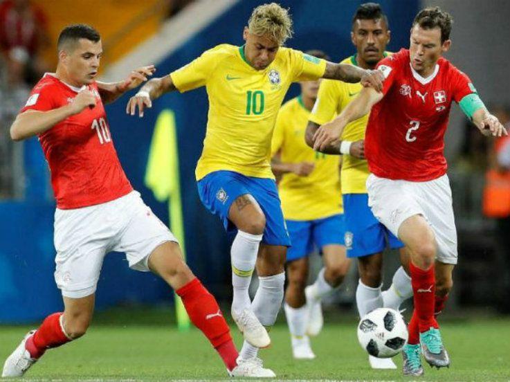 7 Fakta Terselubung Laga Brasil vs Swiss di Piala Dunia 2018