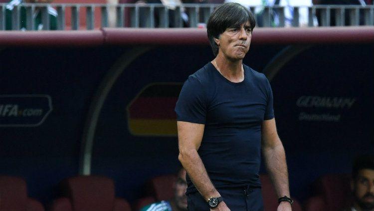 Pelatih Jerman Joachim Low. Copyright: © Getty Images