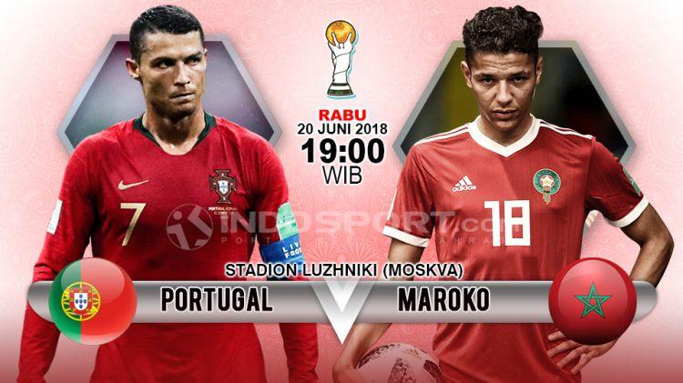 Prediksi Portugal Vs Maroko Copyright Grafis Herufirmansyahindosport Com