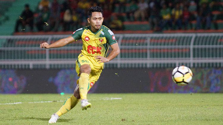 Andik Vermansah saat membela Kedah FA. Copyright: © Kedah FA