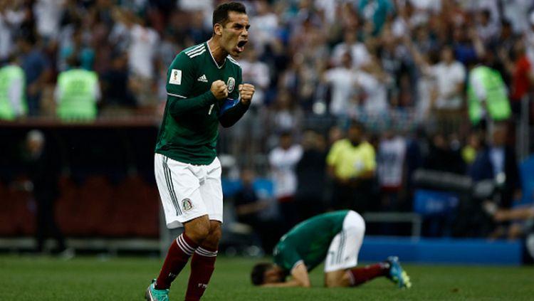 Rafael Marquez, kapten Timnas Meksiko. Copyright: © Getty Images
