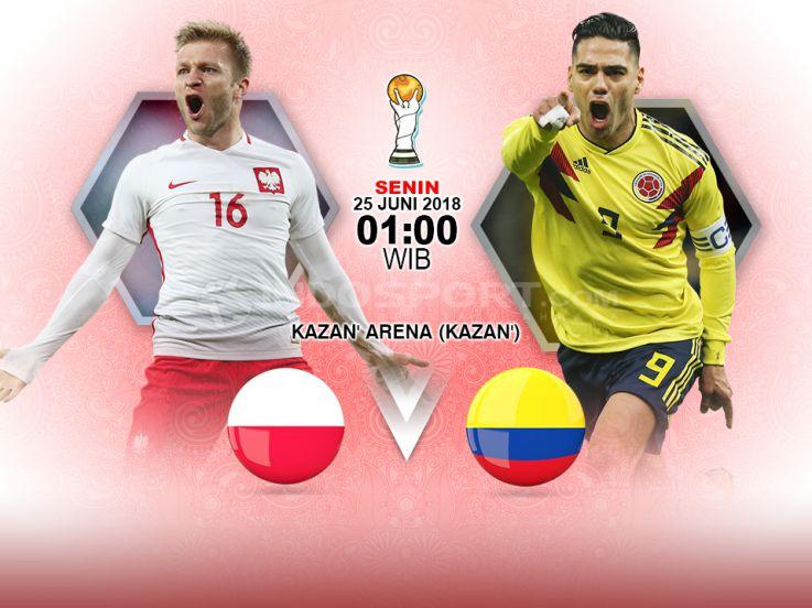 Prediksi Pertandingan Piala Dunia 2018: Polandia vs Kolombia