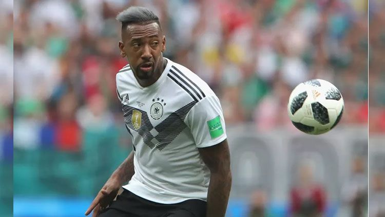 Gaya rambut Jerome Boateng di Piala Dunia 2018. Copyright: © Alexander Hassenstein/Getty Images