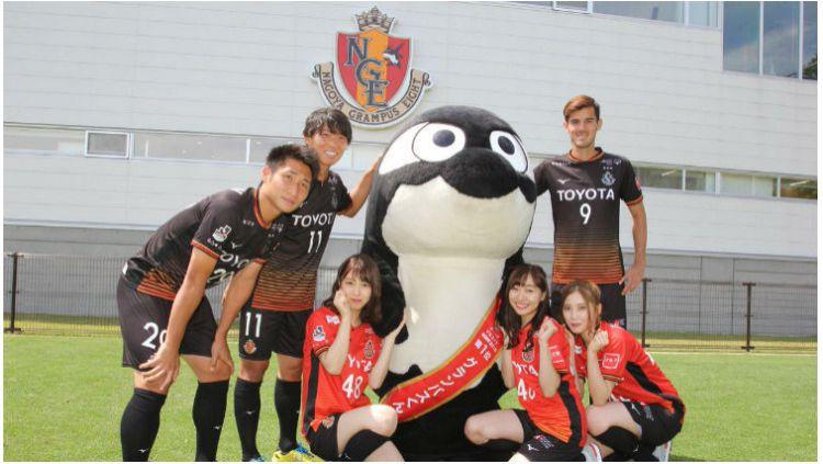 SKE48 resmi menjadi manajer suporter Nagoya Grampus Eight Copyright: © Twitter @nge_official