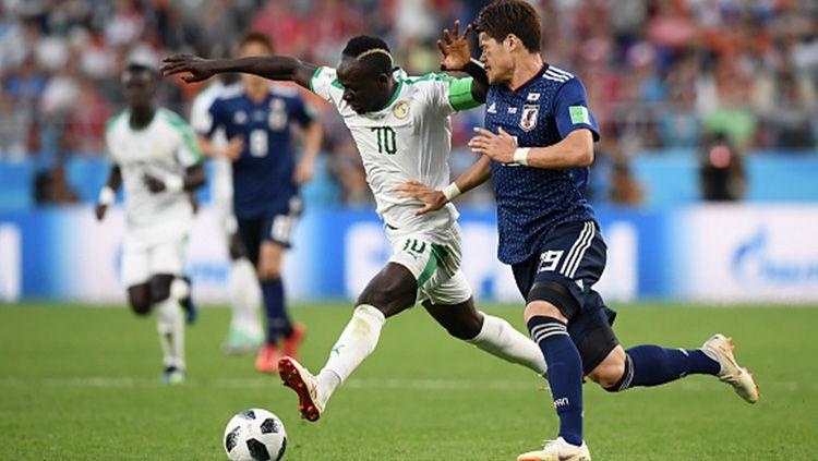 Jepang vs Senegal di Piala Dunia 2018. Copyright: © INDOSPORT