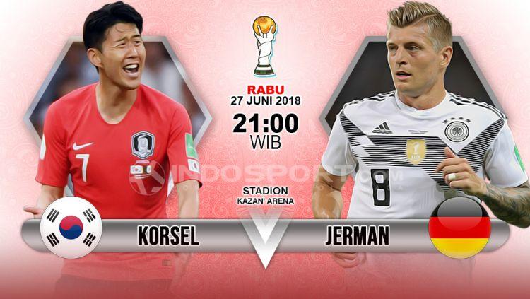 Prediksi Korea Selatan vs Jerman. Copyright: © Indosport.com