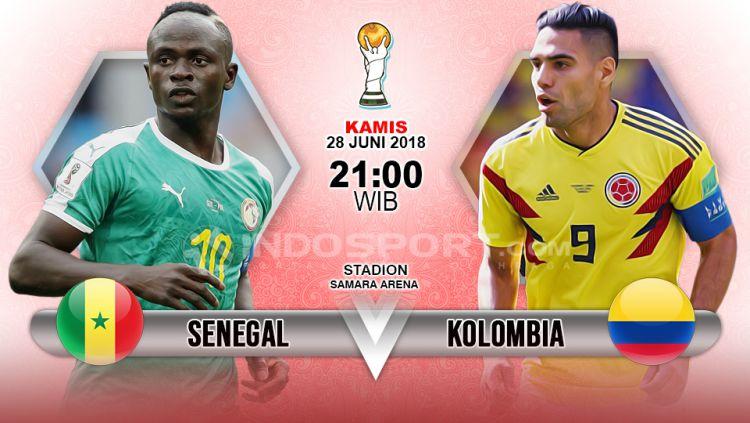 Prediksi Senegal vs Kolombia Copyright: © Indosport.com