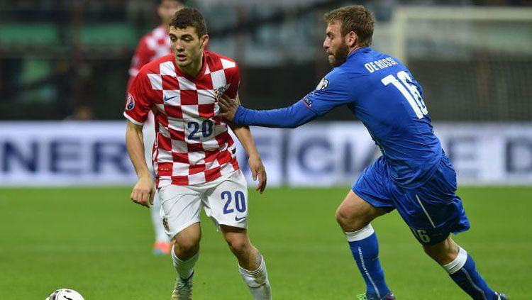 Mateo Kovacic pemain Kroasia Copyright: © Sky Sport