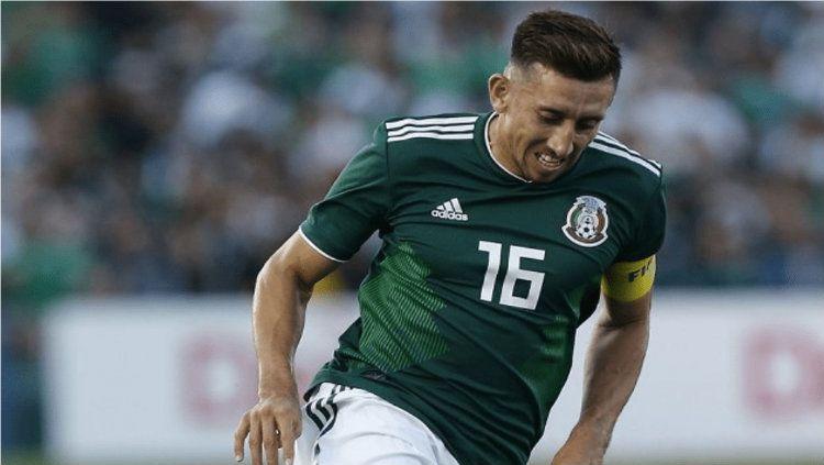 Hector Herrera pesepakbola Meksiko yang tengah jadi incaran klub papan atas Eropa Copyright: © Vivaronews