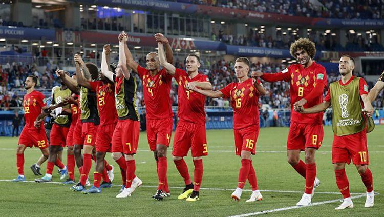 Timnas Belgia di Piala Dunia 2018. Copyright: © INDOSPORT