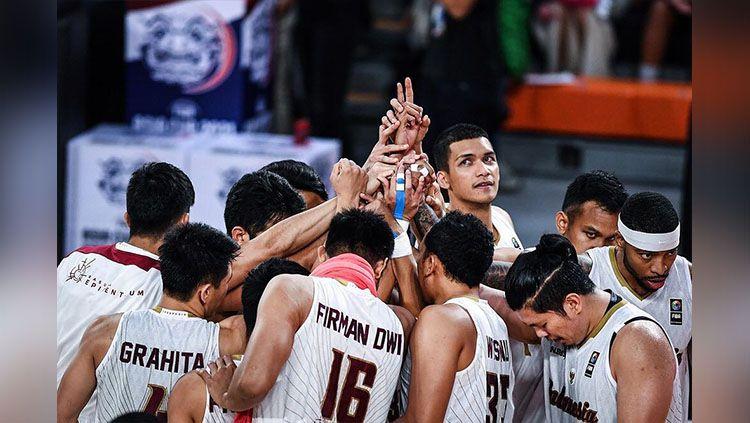 Timnas Indonesia Juara Pra-Kualalifikasi FIBA Asia Cup 2021 zona Asia Tenggara (SEABA). Copyright: © instagram @timnasbasket